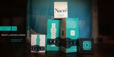 Perenelle   The Brand Guidelines   Version 1.0   Product : Nacre (page spread 9)   perenellebeauty.com   Owner/Parnters : Daniel Brown & Andrew Holliday,  Design/Concept : Michael J. Hildebrand,  Copywriter: Hunter Mitchell