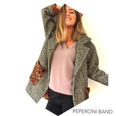 Band 31 Peperoni Chaquetones Mujer Imágenes Lana Mejores Blazer De IqwrIt