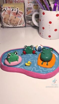 Polymer Clay Crafts, Diy Clay, Clay Art Projects, Cute Clay, Fun Diy Crafts, Sculpture Clay, Air Dry Clay, Clay Creations, Pottery Art