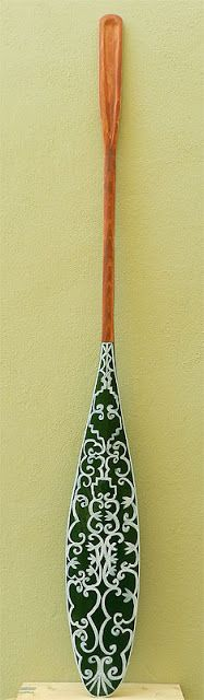 Paddle Making (and other canoe stuff): Peabody Green Passamaquoddy Replica Peabody Museum, Canoe Paddles, Traditional, Green