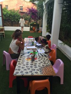 Kids' play area with attendants at Macao Cafe in Ibiza. Talk about kid-friendly! Kids Cafe, Ibiza Spain, Kids Play Area, The Fam, Kids Playing, Macau, Outdoor Decor, Bakery, Travel