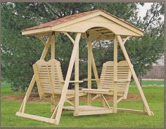 double face to face swing for the backyard outdoor furniture