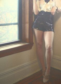 Doesn't every girl need a pair of sparkly tap shorts?