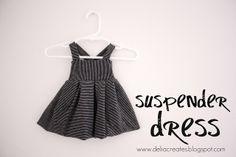 delia creates: Nesting: Suspender Dress