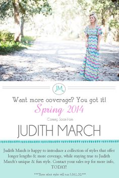 We will be carrying these Judith March styles this Spring and Summer!