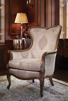 Beau Wedgewood Wingback Chair | Bombay Canada