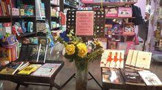 En el evento del primer aniversario de Ler Librerías (Tenerife) el 2 de octubre de 2015.
