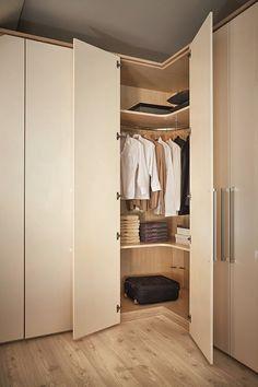 Lshaped wardrobe  Home decor  Wardrobe design Bedroom