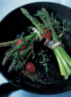 Roasted Asparagus | Vegetables Recipes | Jamie Oliver Recipes