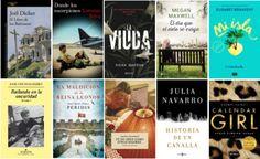 Libros más vendidos semana del 18 al 24 de julio 2016 en ficción.