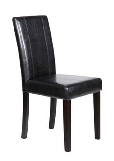Cool Milan Faux Leather Black Dining Chairs Set Of 2 Creativecarmelina Interior Chair Design Creativecarmelinacom