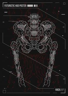 Poster design human body with futuristic... | Premium Vector #Freepik #vector #poster #design #technology #medical Retro Futuristic, Futuristic Design, Japanese Graphic Design, Modern Graphic Design, Anime Monochrome, Iphone Background Images, Futuristic Background, Mechanical Art, Cyberpunk