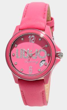 Watches, Liu Jo, Leather, Fashion, Luxury, Moda, Wristwatches, Fashion Styles, Clocks