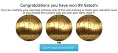 Earn #Satoshi #coins Every 5 Minutes everyday at http://free-bitcoin.org/index.php?r=1FRPFCVpbwm16BmL8Fk5tM1ZM4te76vMSN