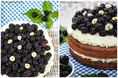 cuketový dort s ostružinama (výběr) Blackberry, Fruit, Food, Essen, Blackberries, Meals, Yemek, Rich Brunette, Eten