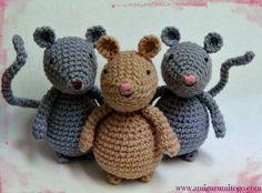 Mesmerizing Crochet an Amigurumi Rabbit Ideas. Lovely Crochet an Amigurumi Rabbit Ideas. Crochet Mouse, Crochet Patterns Amigurumi, Amigurumi Doll, Crochet Baby, Free Crochet, Crochet Crafts, Crochet Projects, Crochet Dolls Free Patterns, Doll Tutorial