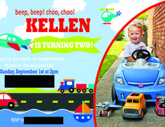 Kellen's On the Go 2nd Birthday