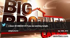 April 28th 2013: Lots of fans were waiting for the new episode of Big Brother Canada last night in Canada, many retweets from canadians - #Seevibes #TopRetweet #Twitter #BBCAN - https://twitter.com/BigBrotherCA/status/328629597023399936