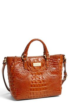 20c8f97e4644 I just purchased this Brahmin  Melbourne - Mini Arno  Satchel in Pecan. I