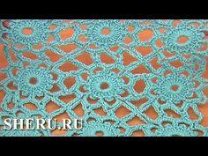 Join Method Crochet Motifs Урок 7 часть 2 из 2 Мотивы и соединение их в полотно