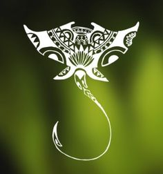 Image result for tribal stingray tattoo                                                                                                                                                                                 More