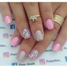Tao, Nail Designs, Nail Art, Nails, Flowers, Beauty, Nail Design, Art Nails, Work Nails