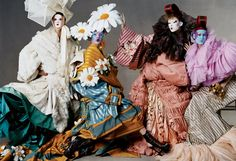 The Most Fantastical Haute Couture Shoots in _Vogue_