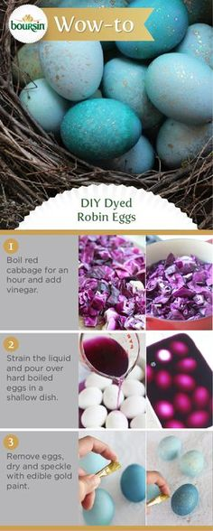 After dying your own Easter eggs with this no-fail technique, youll never buy a box kit again. Brought to you by the Boursin Purveyor of Wow Shop. - Diy Crafts for The Home Spring Crafts, Holiday Crafts, Holiday Fun, Diy And Crafts, Crafts For Kids, Creative Crafts, Yarn Crafts, Diy Ostern, Robins Egg