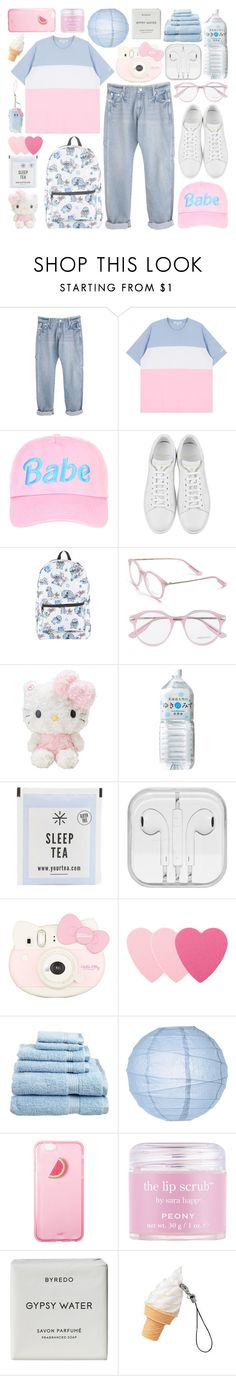 """[rp] cotton candy prince ;"" by akihabara ❤ liked on Polyvore featuring Yves Saint Laurent, Disney, Jason Wu, Hello Kitty, Sephora Collection, Superior, Cultural Intrigue, Sara Happ and Byredo"