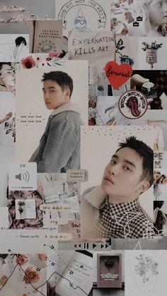 D.O Lockscreen- Twitter @LKOFKPOP   ~Jessie ♡ Suho Exo, Exo Do, Kaisoo, Kpop Exo, Do Kyung Soo, Exo Memes, Taemin, Wallpapers Kpop, Exo Lockscreen