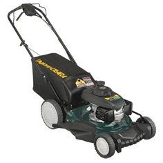Yard-Man 12AVD39Q701 21-Inch 160cc Honda GCV Mulch/Side Discharge/Bagging Gas Powered Self Propelled Lawn Mower with High Rear Wheels. Details at http://youzones.com/yard-man-12avd39q701-21-inch-160cc-honda-gcv-mulchside-dischargebagging-gas-powered-self-propelled-lawn-mower-with-high-rear-wheels/