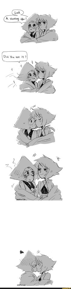 """Yeah I saw it.hey my wish came true! Steven Universe Lapidot, Steven Universe Ships, Gravity Falls, Yuri, Lapis And Peridot, Romance, 19 Days, Cool Cartoons, Anime Manga"