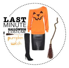 """Pumpkin 🎃 Witch"" by hadleysummer ❤ liked on Polyvore featuring Moschino"