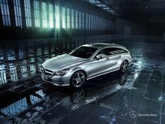 CLS Shooting Brake - Driving safety has never looked so good. In addition to numerous safety systems, the LED Intelligent Light System with full LED headlamps (CLS 350 only) ensures good visibility.