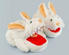1dbd89741b7 Monty Python killer rabbit slippers  Slippers www.Slippers.com Funny  Slippers
