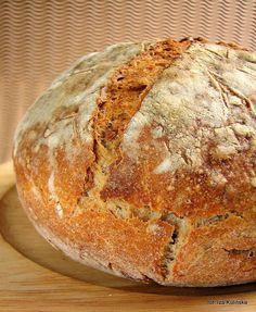 Smaczna Pyza - Sprawdzone przepisy kulinarne: Chleb z patelni czyli patelniak