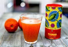 Baobab Orange Juice Energising Drink   aduna.com