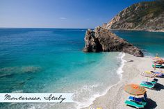 Monterosso, Cinque Terre. A beachy day in Tuscany sounds heavenly :)