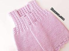 ÇOK ŞEKER LİLA KIZ BEBEK YELEK AÇIKLAMALI | Nazarca.com Baby Knitting Patterns, Knitting Designs, Zoom Call, Cool Names, Crochet Top, Stuff To Buy, Outfits, Orlando, Women