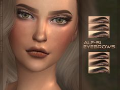 Alf-si   Eyebrows 23: HQ, non HQ, MM child +; humans; 24...