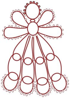 diagram for Guardian Angel  Pattern by Kathy Hodge