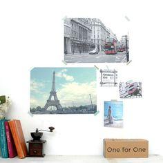 런던 파리 포스터