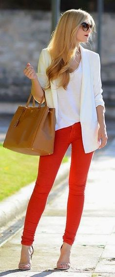Aren't these Ralph Lauren Sunglasses great combined with the white blazer and red pants? #smartbuyglasses #Spring https://www.smartbuyglasses.com/designer-sunglasses/Ralph-by-Ralph-Lauren/Ralph-by-Ralph-Lauren-RA5150-504/13-178647.html