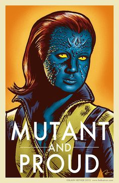Mutant and Proud by Blain Hefner