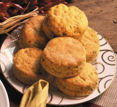 Savory Sweet Potato Biscuits