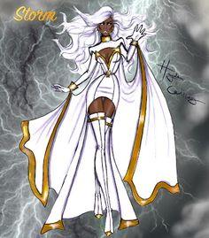 #Hayden Williams Fashion Illustrations: #Marvel Divas by Hayden Williams : Storm
