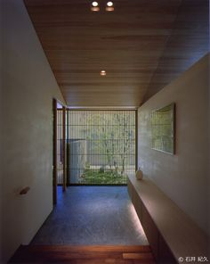 House in Satsuma / Masumi Yanase Architect Office Japanese Modern House, Modern Japanese Interior, Japanese Architecture, Interior Architecture, Interior And Exterior, Zen Interiors, House Entrance, Ideal Home, Home Deco