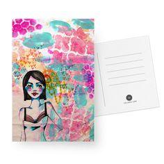 Cartão Girlie. de @jurumple | Colab55