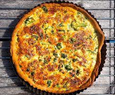 Tätä reseptiä on toivottu! Siken quiche vie kielen mennessään - Ajankohtaista - Ilta-Sanomat Quiche, Cake Recipes, Food And Drink, Cooking Recipes, Vegetarian, Sweets, Dishes, Breakfast, Glute