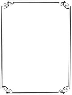 Free Printable Page Borders School | full page borders 1 2 next ...